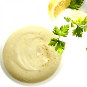 Mixé-lisse au Cabillaud, Pomme de terre et Câpres, riche en protéines